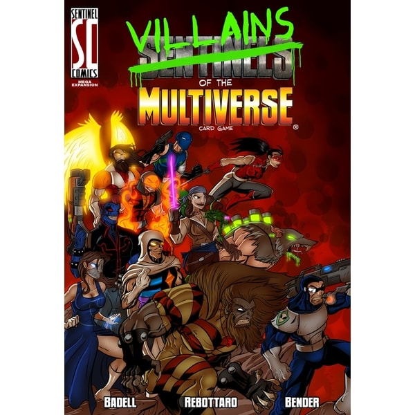 Villains of the Multiverse: Card Game