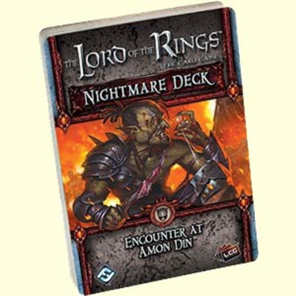 The LOTR: LCG - Encounter at Amon Dint - Nightmare Deck