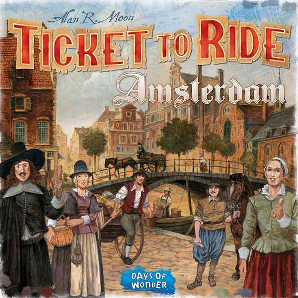 Ticket to Ride - Amsterdam