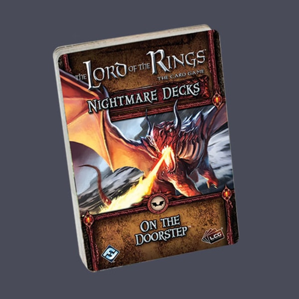 The LOTR: LCG - On the Doorstep Nightmare deck
