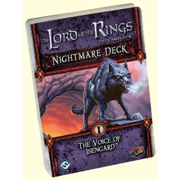 The LOTR: LCG - Voice of Isengard - Nightmare deck