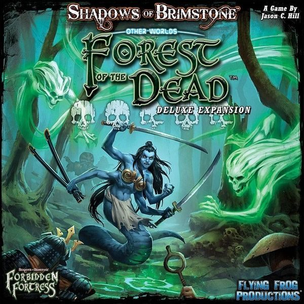 Shadows of Brimstone: Forbidden Fortress - Forest of the Dead: Deluxe Expansion