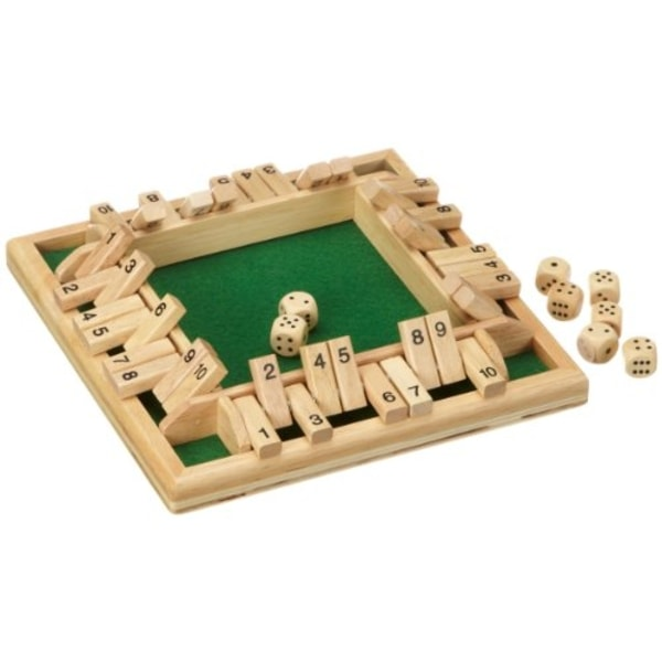Shut the Box 1-4 hráči