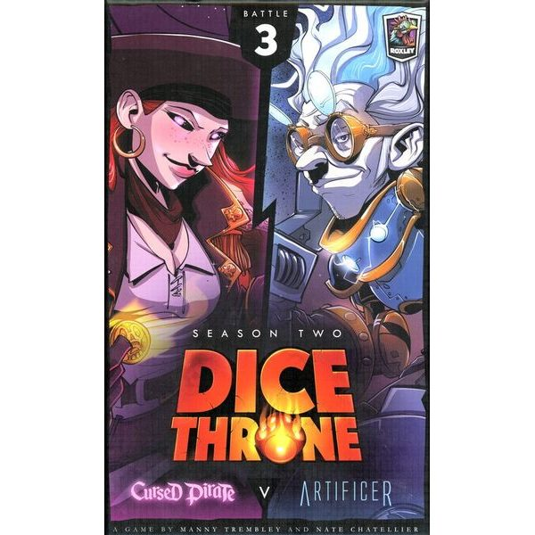 Dice Throne - Cursed Pirate v Artificer