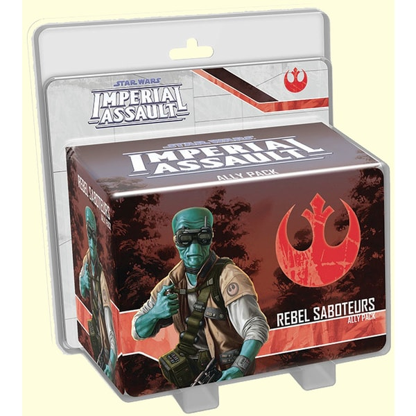 Imperial Assault Ally Pack: Rebel Saboteurs