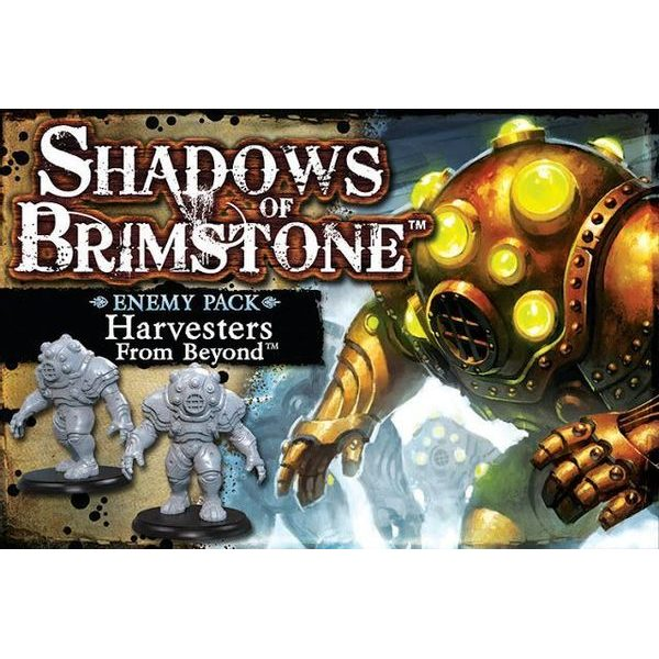 Shadows of Brimstone: Harvester From Beyond - Deluxe Enemy Pack