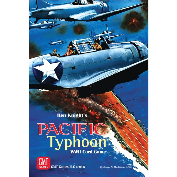 Pacific Typhoon: WWII Card Game