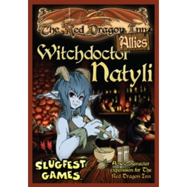 The Red Dragon Inn Allies: Witchdoctor Natyli