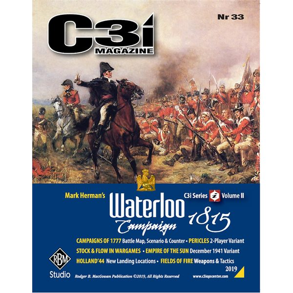 C3i no. 33 - Waterloo Campaign 1815