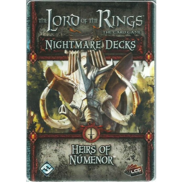 The LOTR: LCG - Heirs of Númenor Nightmare Pack