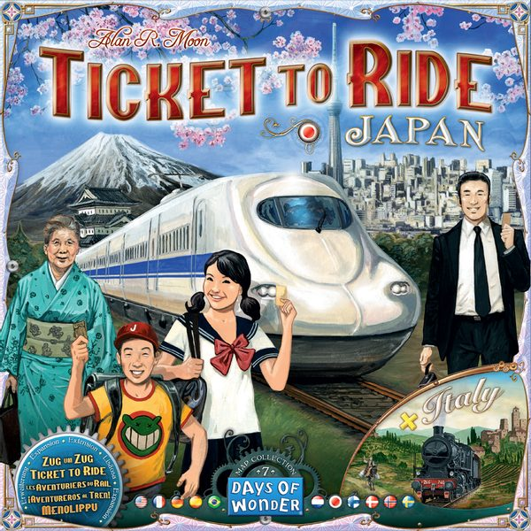 Ticket to Ride - Japan + Italy