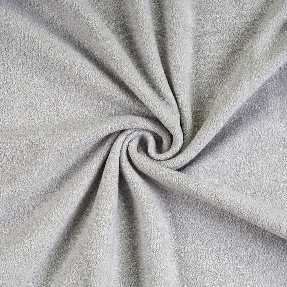 Froté prostěradlo (120 x 200 cm) - světle šedé