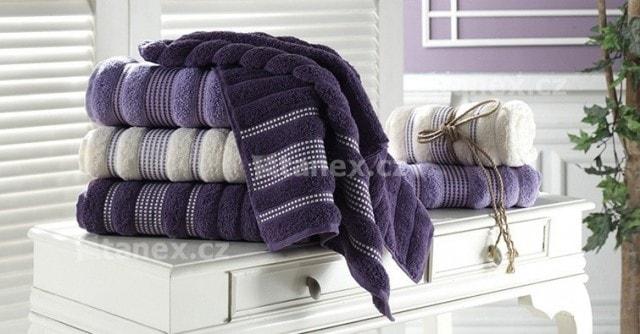 Froté ručníky a osušky PARIS