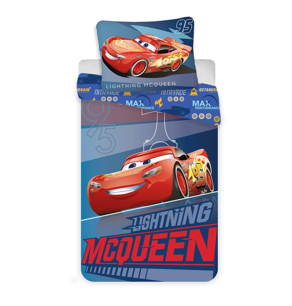 Obliečky z mikrovlákna 140x200 cm, 70x90 cm - Blesk McQueen