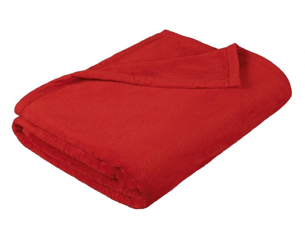 Brotex Deka micro dvojlôžko 200x230 cm červená
