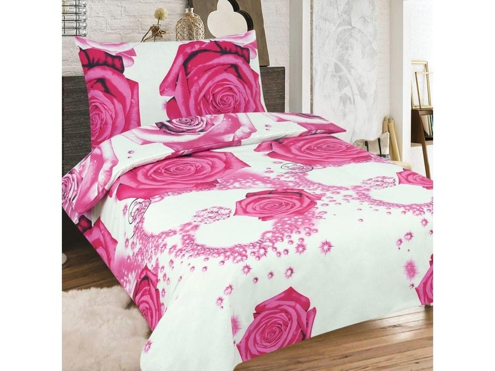 Bavlnené obliečky 140x200, 70x90 - Rose