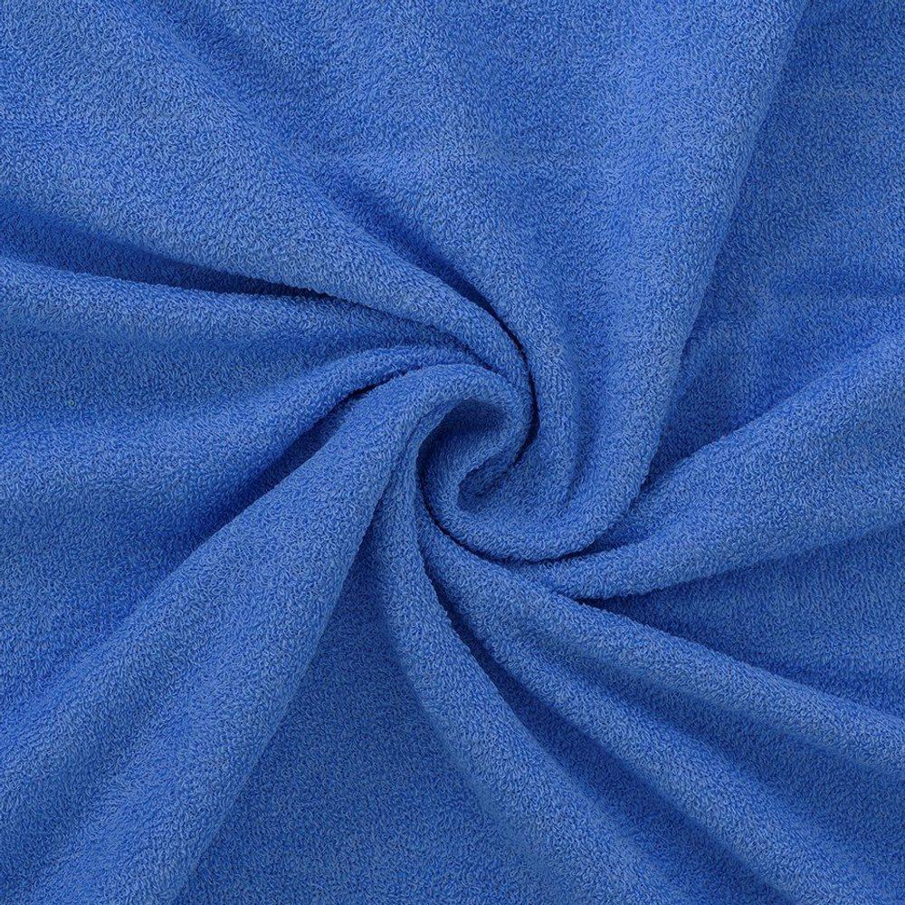 Froté prostěradlo (140 x 200 cm) - modré