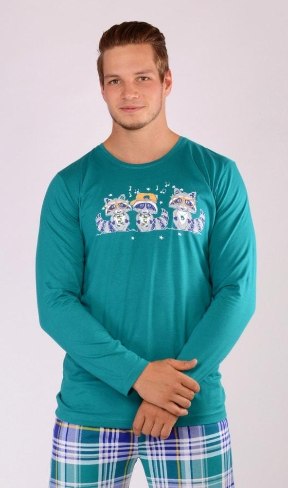 Pánské pyžamo dlouhé Mývalové