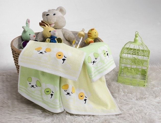 Dětské froté ručníky a osušky PEJSEK