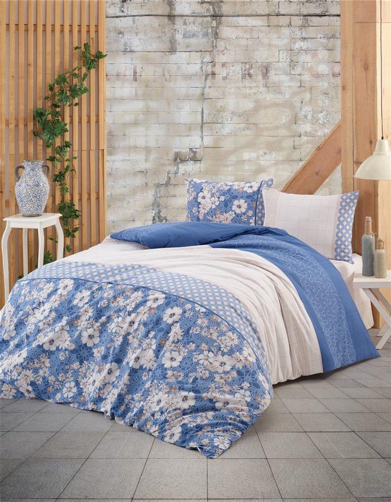 Brotex Bavlnené obliečky 140x200, 70x90cm Dona blue