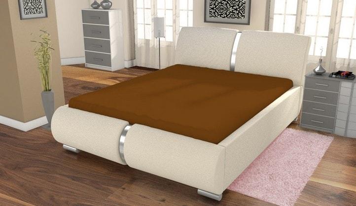 Froté prestieradlo ECONOMY (180x200 cm) - Čokoláda