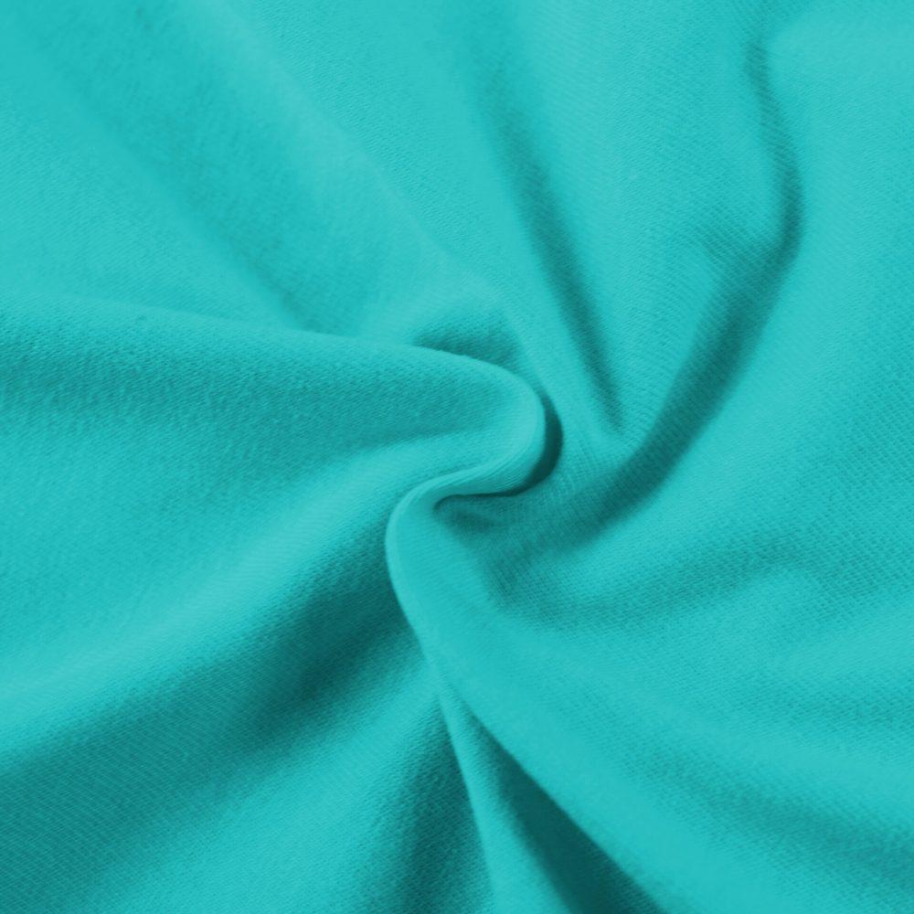 Jersey prostěradlo (90x200 cm) - tyrkysové