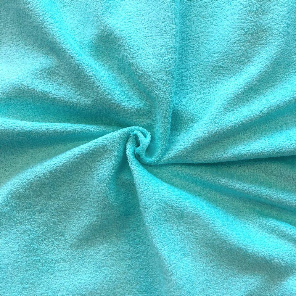 Froté prostěradlo (120x200 cm) - tyrkysové