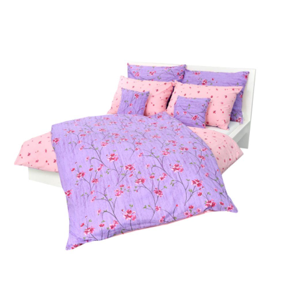 Stanex Posteľné obliečky bavlnené fleur (LS200) - Ložní povlečení 140x200 + 90x70 - (LS200)