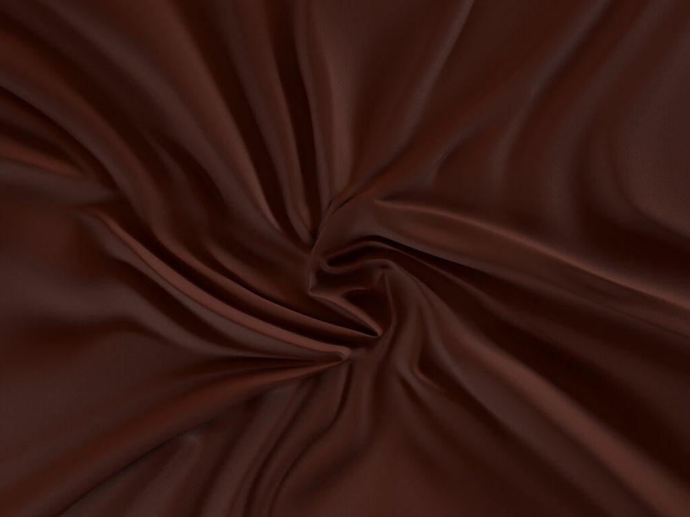 Kvalitex Saténové prestieradlo LUXURY COLLECTION 120x200 cm tmavo hnedé / čokoládové - výšku matrace do 15cm