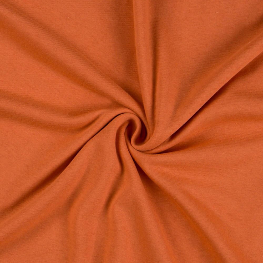 Kvalitex Jersey prestieradlo (90 x 200 cm) - terrakota