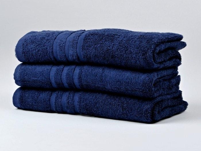 Ručník froté 50x100 cm - CLASSIC - modrý