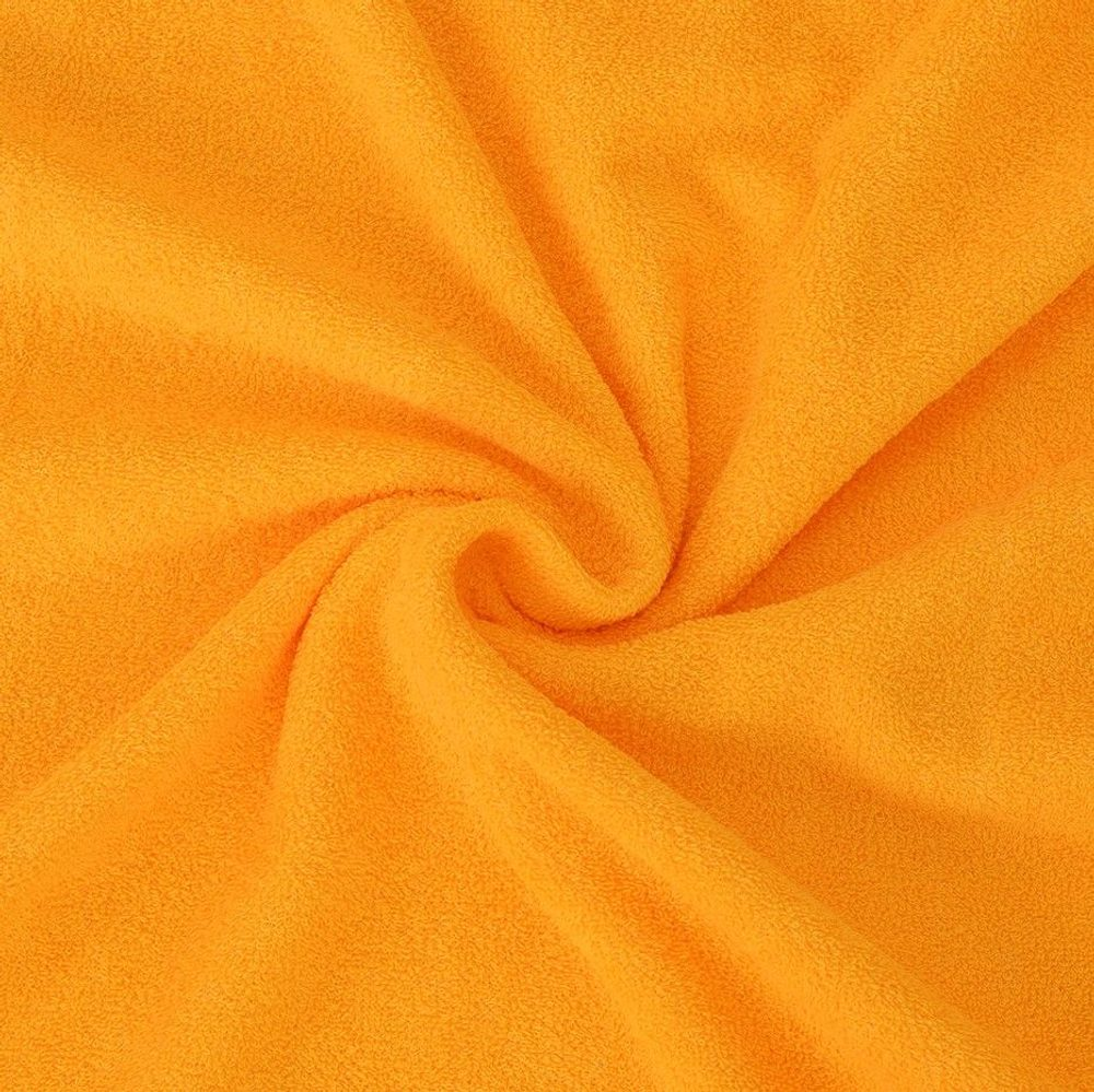 Froté prostěradlo (120 x 200 cm) - sytě žluté