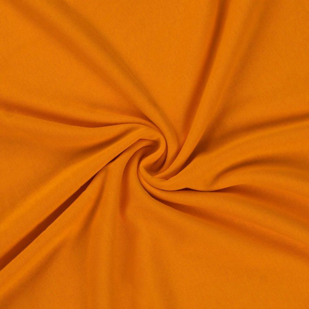 Kvalitex Jersey prestieradlo (90 x 200 cm) - oranžové