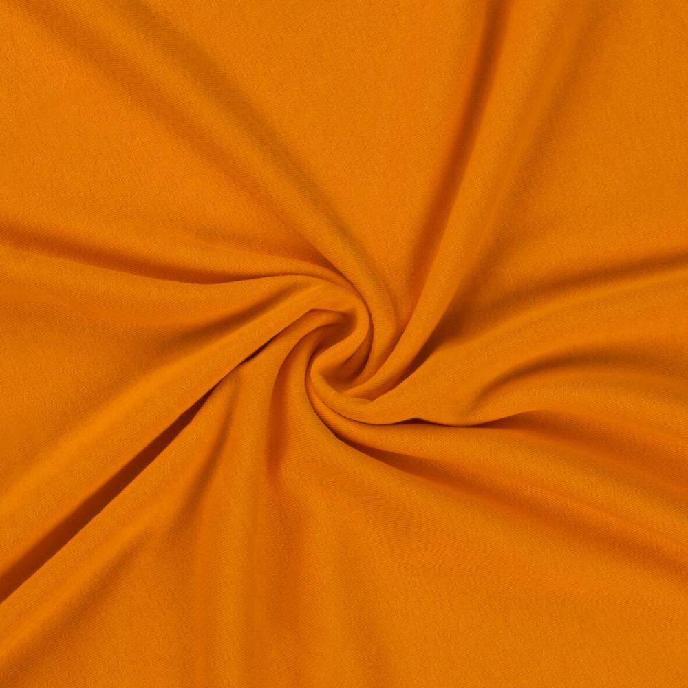 Levně Jersey prostěradlo (220 x 200 cm) - Oranžová