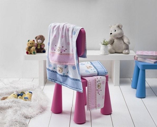 Dětské froté ručníky a osušky BRUMIK