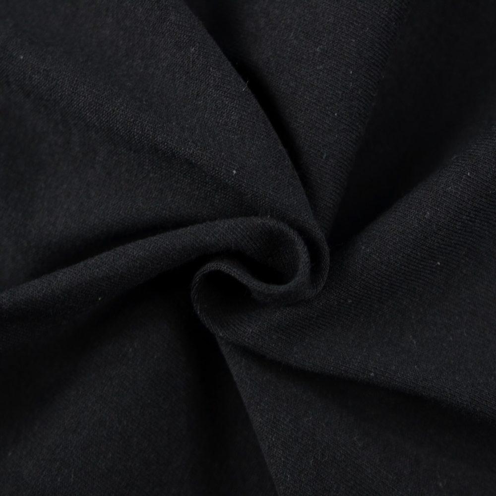 Dětské jersey prostěradlo (60x120 cm) - černé
