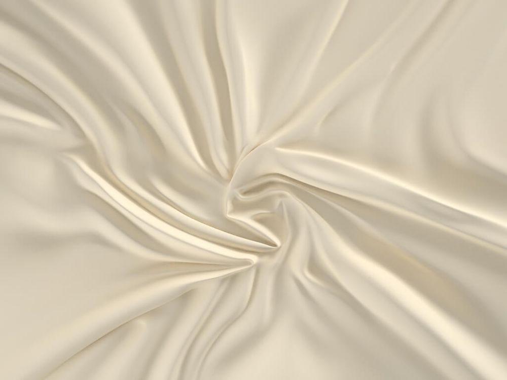 Kvalitex Saténové prestieradlo (100 x 200 cm) - smotanové - výšku matrace do 15cm