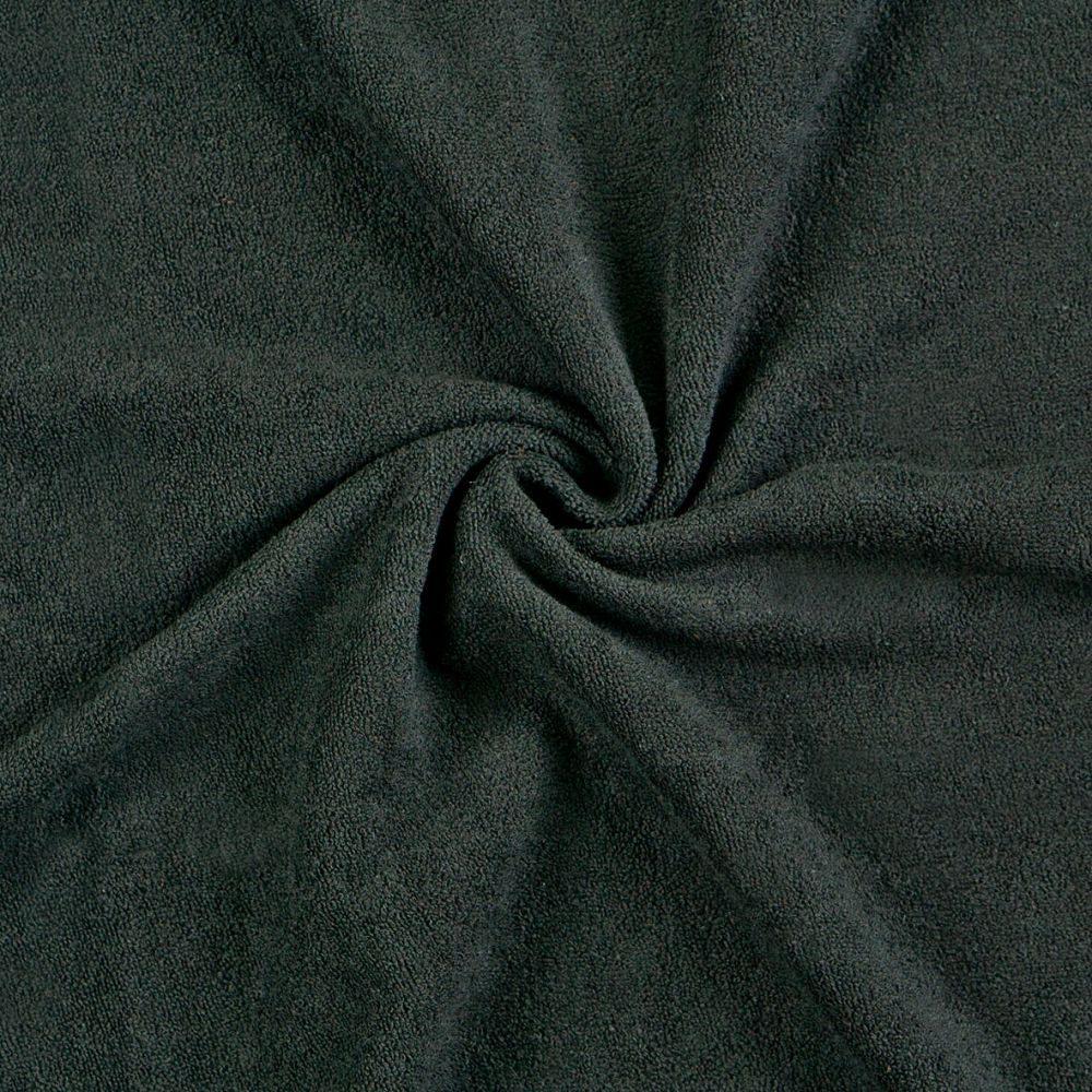 Froté prostěradlo (120 x 200 cm) - černé