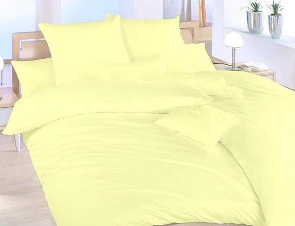 Brotex Obliečky bavlna UNI 140x200, 70x90cm Svetlo žltá