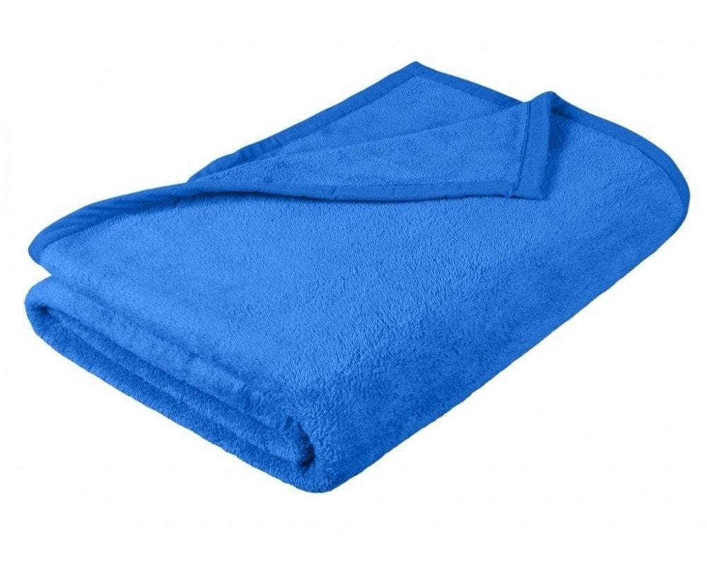 Brotex Deka micro dvojlôžko 200x230 cm modrá