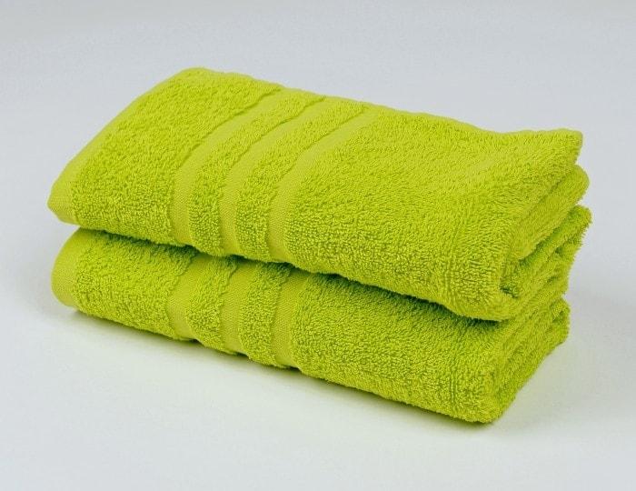 Ručník froté 50x100 cm - CLASSIC - zelený
