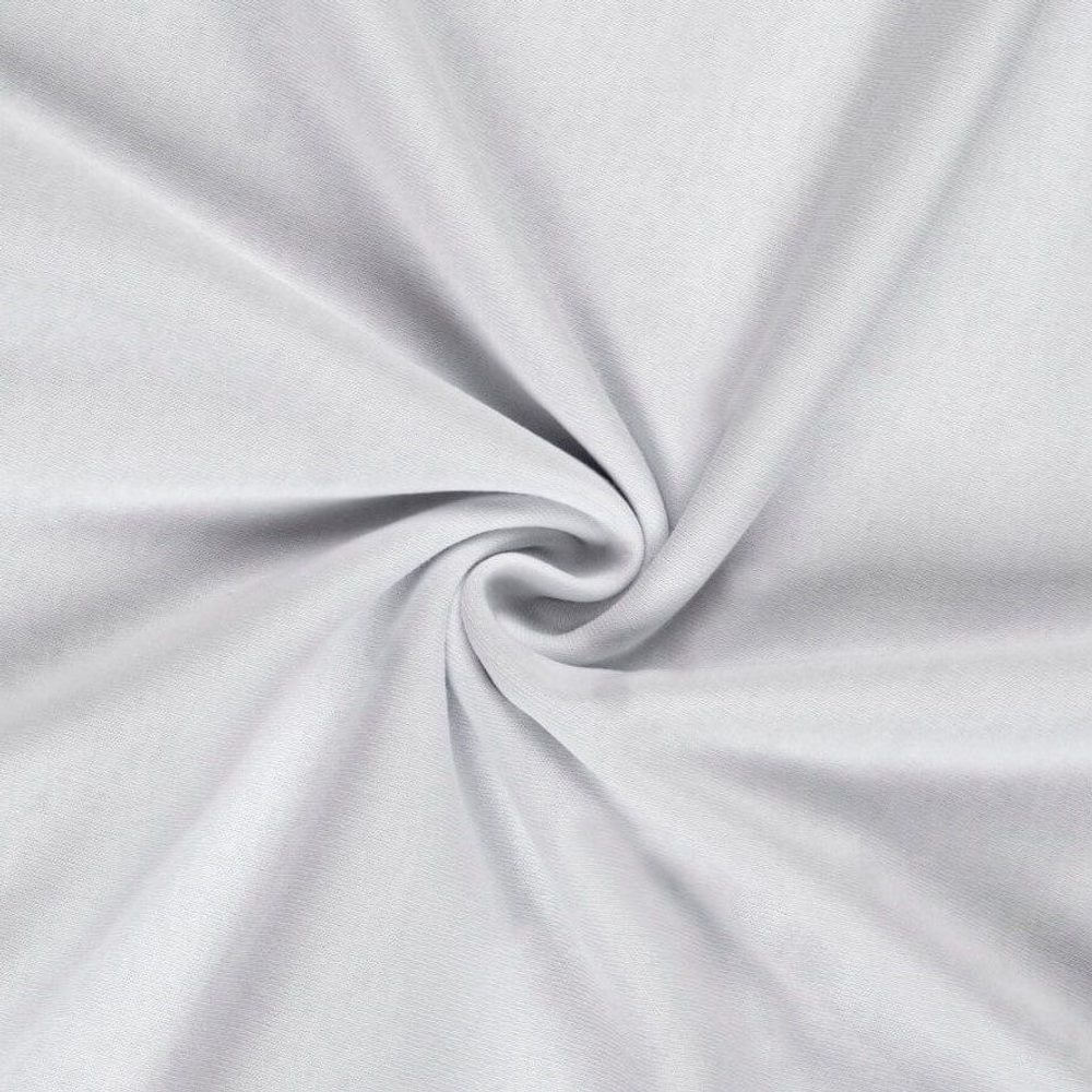 Kvalitex Jersey prestieradlo (90 x 200 cm) - biele