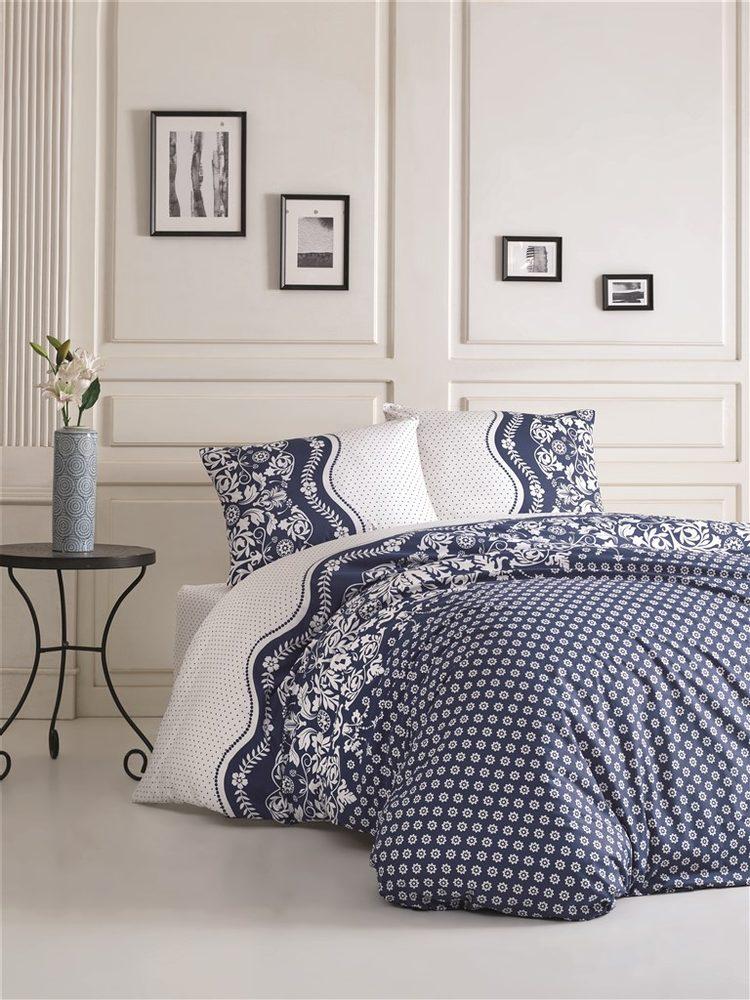 Brotex Bavlnené obliečky 140x200, 70x90cm Dafne blue