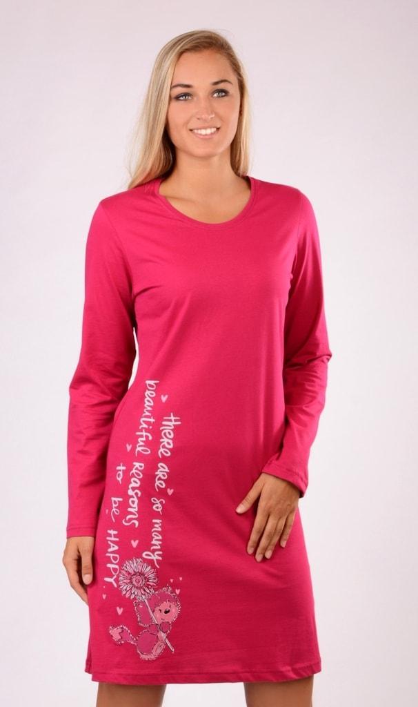 3139488dbdd4 Bedario.sk - Dámska nočná košeľa s dlhým rukávom Angelina - Vienetta ...