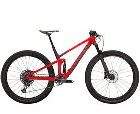 Trek Top Fuel 9.8 GX 2021 (Gloss Red/Matte Carbon Smoke)