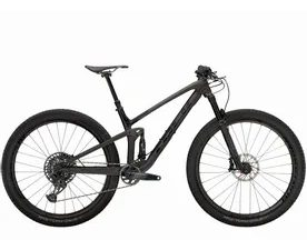 Trek Top Fuel 9.8 GX 2021 (Matte Raw Carbon/Voodoo Trek Black)