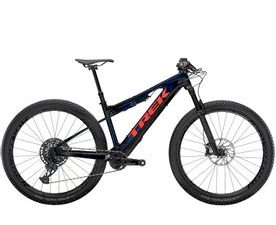 Trek E-Caliber 9.8 GX 2021 (Blue Smoke/Radioactive Coral)
