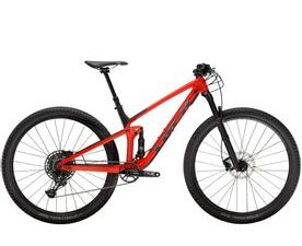 Trek Top Fuel 9.7 (Gloss Red/Matte Carbon Smoke)