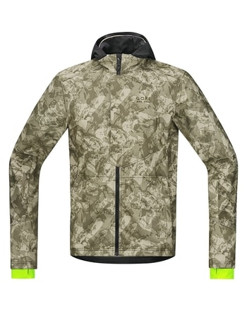 Bunda GORE Element Urban Print WS Soft Shell Jacket (kamufláž)