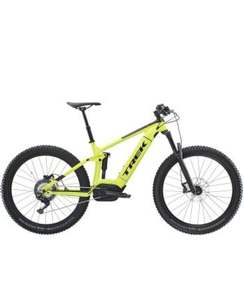 Trek Powerfly 7 FS Plus 2019 (zelená) Testbike